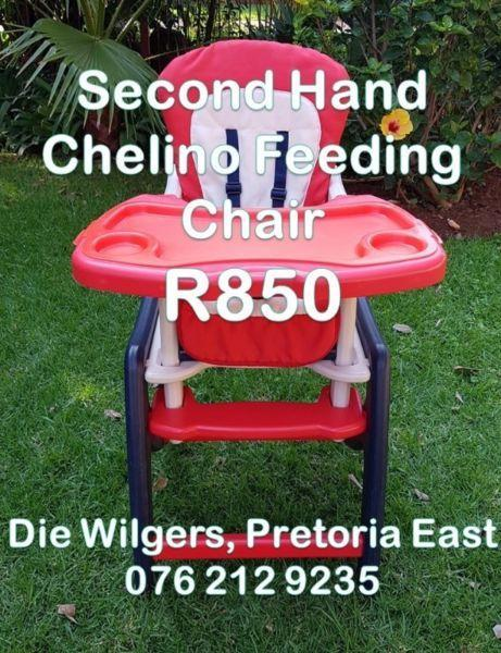 Second Hand Chelino Feeding Chair
