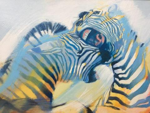 Peter Botha oil painting. ( Bargain!!!! )