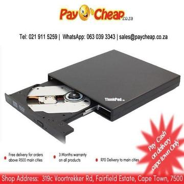 Brand New Replacement USB 2.0 Slim External Portable DVD±RW Drive for All Lenovo ThinkPad Co