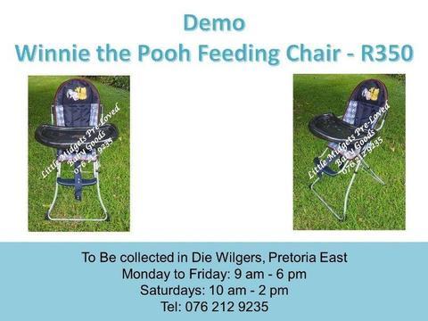 Demo Winnie the Pooh Feeding Chair