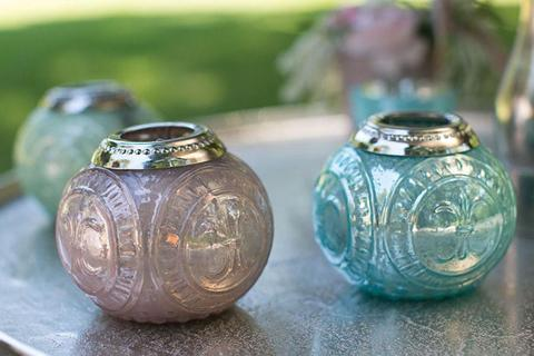 New Mercury Glass Votive Candle Holders for-sale at R50 each. Imported