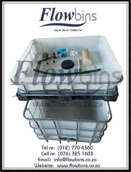 Gauteng- NEW Aquaponics complete starter kits - Growbed, Fish tank, Water and Air pump, Piping, Etc