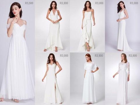 Wedding dresses - affordable and elegant