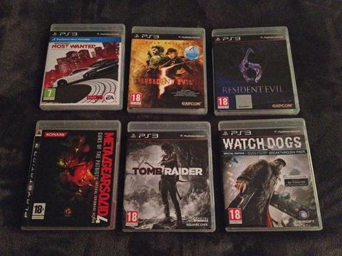 PS3 games - for sale