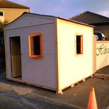 Nutec houses, wendy houses, guardrooms, garden sheds, carports at affordable prices