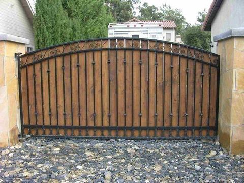 security gates, palisade, hand railings