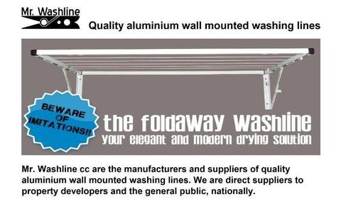 Washing Lines - Read why you should buy directly from Mr. Washline. Factory direct to your doorstep