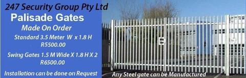 Palisade Gates and Fencing