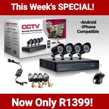 Wholesale 4 Channel Security CCTV Kits