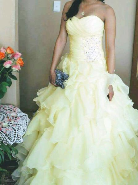 Matric farewell/21st dress