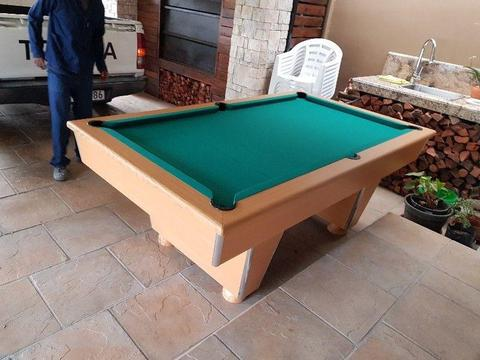 Pool table and accessories slate top