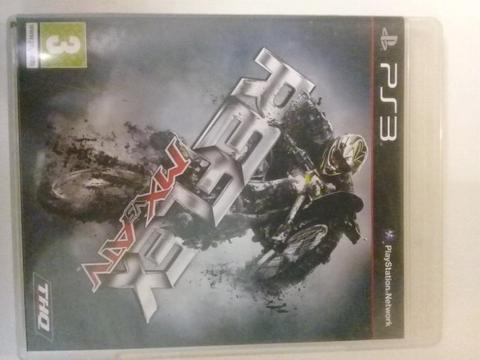 PS3 game - Reflex - MX vs ATV - great condition - R150