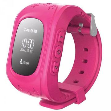 Q50 Kids GPS Tracker Smart Watch - Pink or Blue