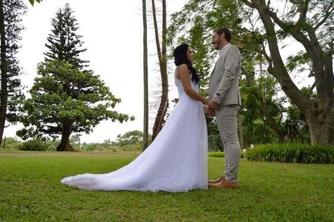 Vintage Ivory wedding dress