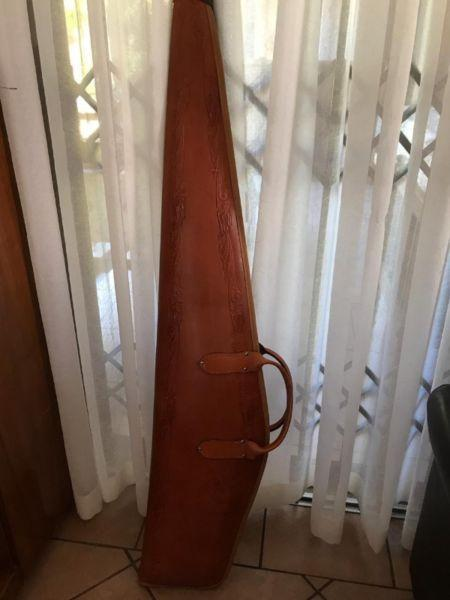 Genuine Leather Handcrafted Hunting Rifle Bag