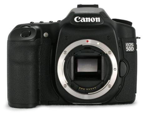 Canon 50D Pro Weather Sealed Stills DSLR Camera