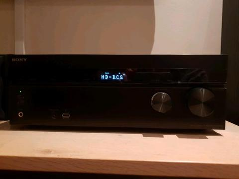 SONY HOME THEATER - SONY AMP + SURROUND SOUND SPEAKERS