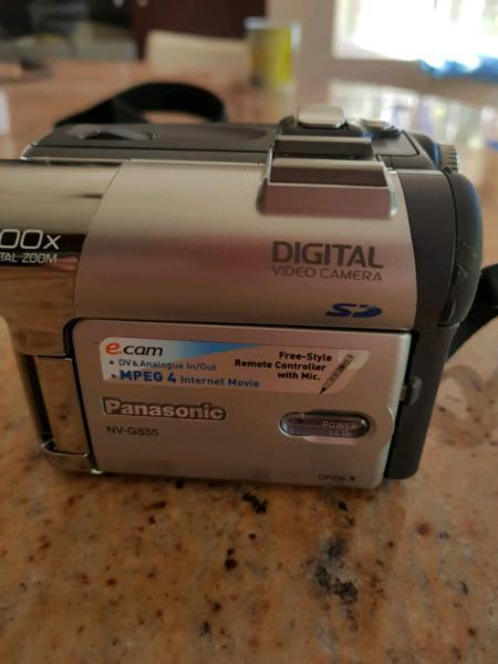 Panosonic digital video camera