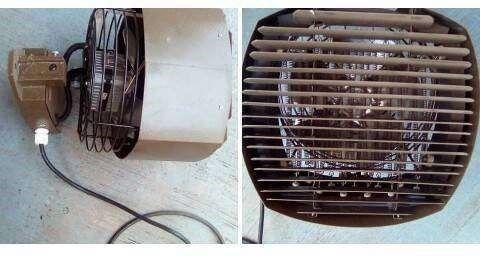 Industrial wall mounted heater / fan 3000w