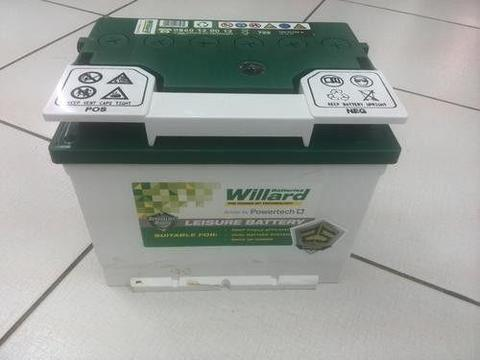 WILLARD LS 722 50 AH DEEP CYCLE BATTERY LEISURE