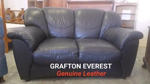 Grafton Everest Leather Couches Brick7 Sales