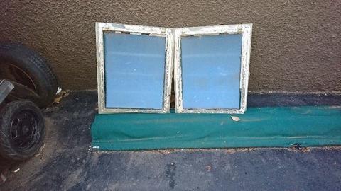 Galvanized Steel Frame Window