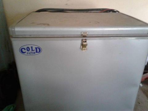 Cold Factor 3-Way 12v, 220v & Gas Camping Fridge/Freezer - 45L
