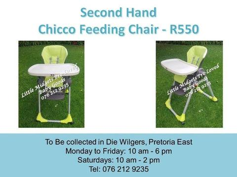 Second Hand Chicco Feeding Chair
