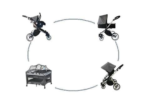 HELLO BABY 3in1 Travel System+ Tiffany Lux combo for sale