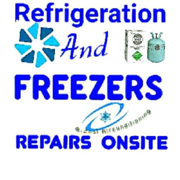 Re gas fridges and repair on site