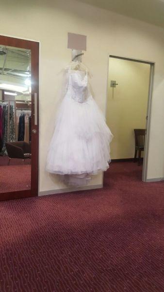 White wedding dress for sale