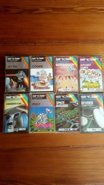 Vintage Sinclair Zx Spectrum Games –R100 each