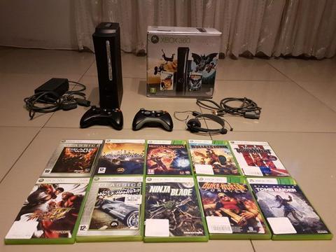 Xbox 360 bundle including 43 games!