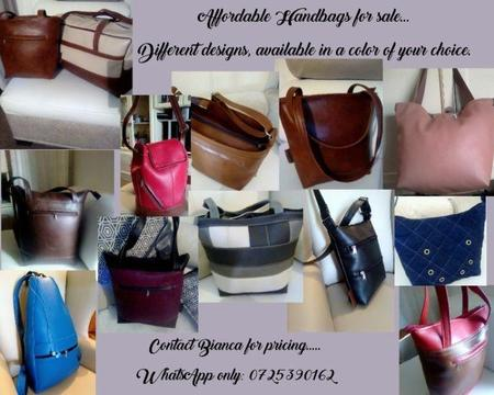 Handbags for sale!