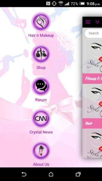 Fashion and Beauty Mobile App