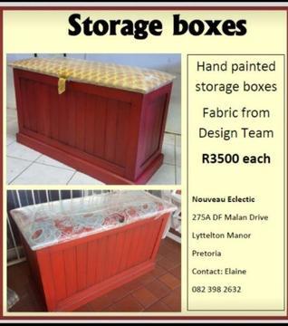 Toy/Storage boxes