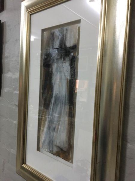 Fiona Ewan Rowett mixed media painting