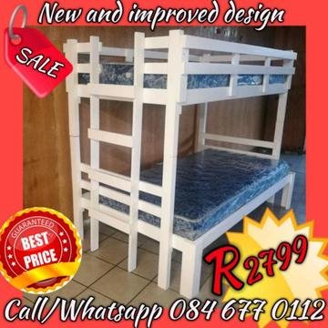 Durable bunk beds