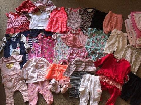0-3 Month Baby Girl Summer Clothes