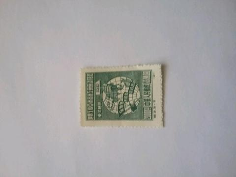 Old stamp of East China
