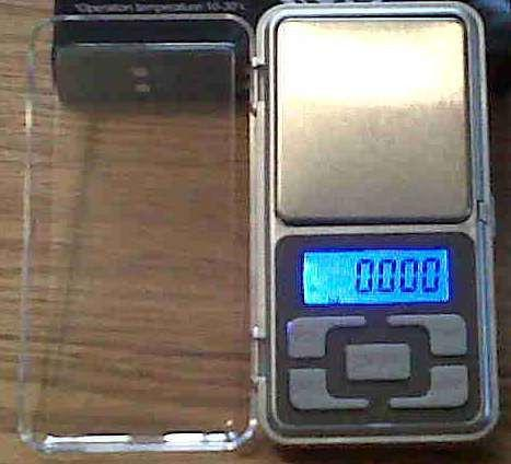 Professional pocket digital scale 0.01g - 200g increments