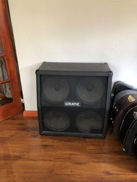 Crate 4/12 loaded speaker cabinet priced to go!
