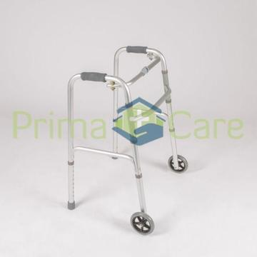 Zimmer Frame / Walking Frame with Wheels: Foldable - ON SALE - ONLY R550 *While Stocks Last*