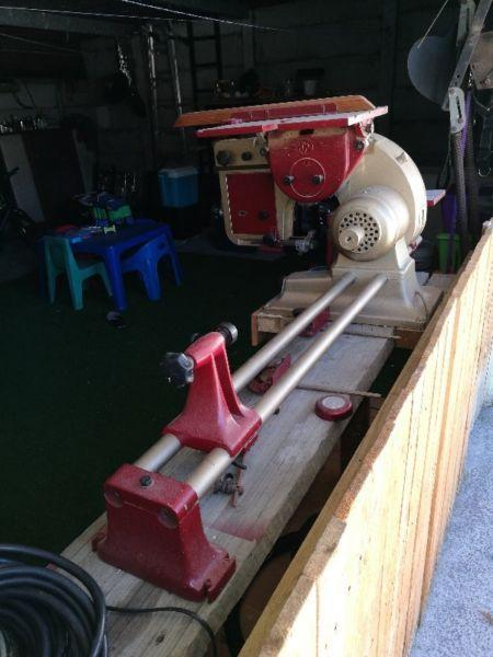 Emcostar combination wood machine