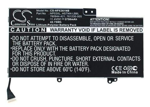 Cameron Sino Notebook, Laptop Battery CS-HPX361NB for HP 15-U011DX etc