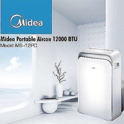 MIDEA Portable Aircon 12000BTU