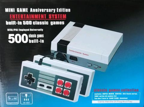 **ON SPECIAL** Classic Gaming Console with 500 built-in games