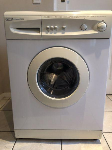 Washing machine - Defy Automaid 600. Needs attention