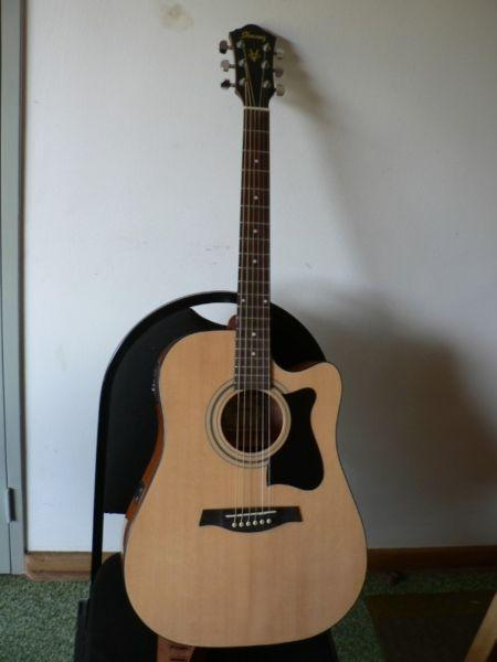 Ibanez electric acoustic V72ECE-NT Guitar R2500