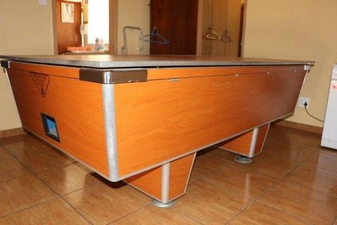 Marble Top Full Size Pool Table - R8000